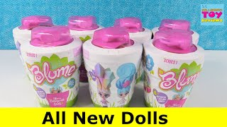Blume Dolls Series 1 Magic Grow Surprise Blind Bag Dolls Unboxing | PSToyReviews