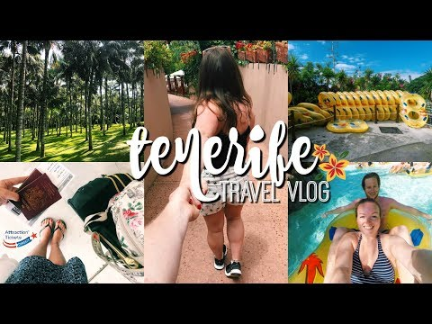TENERIFE TRAVEL VLOG | SIAM PARK & SUNBATHING! ♡ AD | Brogan Tate
