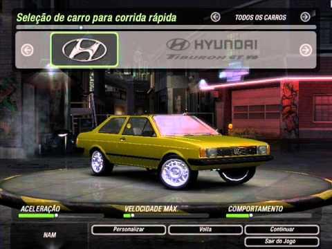 carros brasileiros para nfs underground 2 pc