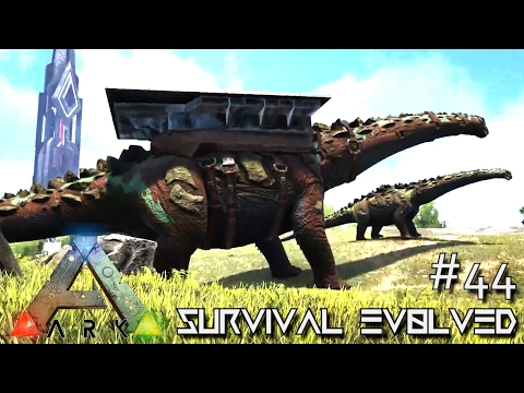 ARK: SURVIVAL EVOLVED - BABY TITANOSAUR BREEDING TITANOSAURUS !!! E44 (MODDED ARK EXTINCTION CORE)