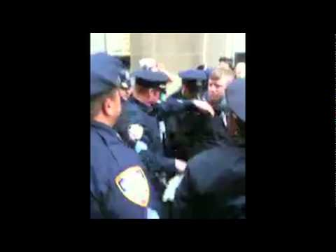 Arrests of Occupy Wall Street Protesters in NYC on September 19, 2011