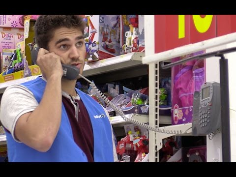 Fake Walmart Employee Prank! (ON THE INTERCOM)