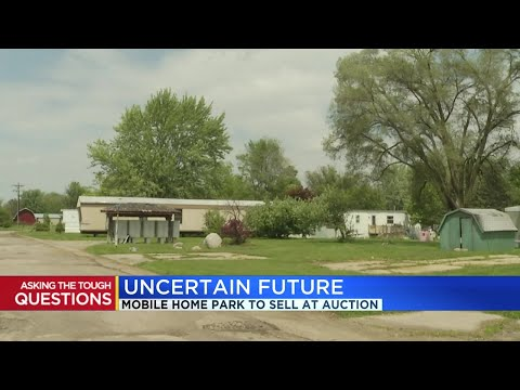 Mobile Home Park To Sell At Auction