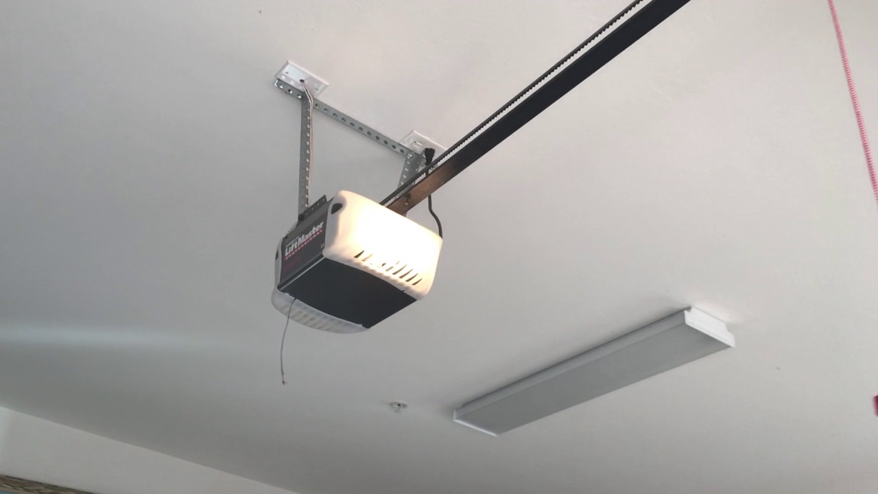 The cool liftmaster hp belt drive garage door opener youtube the cool liftmaster hp belt drive garage door opener rubansaba