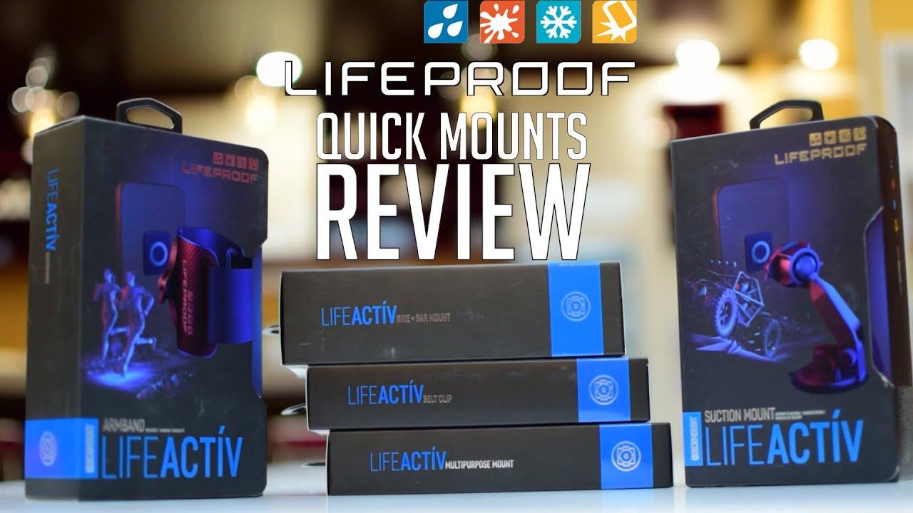super popular 9c13e 9f1bf Lifeactiv Quick Mount Review (Lifeproof)