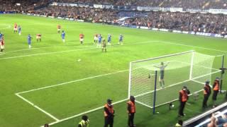 Ryan Giggs penalty against Chelsea FC at Stamford Bridge