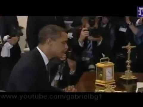 Nueva Orden Mundial Obama y Benedicto preparando la