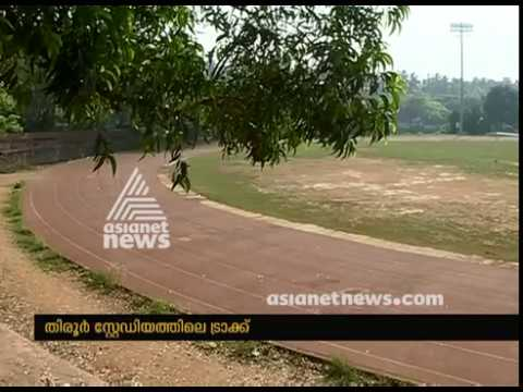 Synthetic Tracks in Rajiv Gandhi Municipal Stadium Destroyed by anti-socials