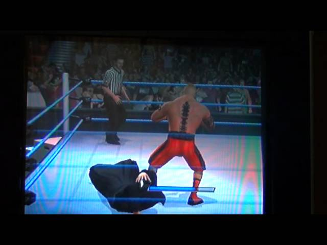 svr 2011brock lesnar caw ps2 best ever