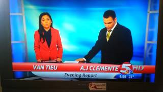 First Day KFYR News Anchor Blooper Fail - Bismarck North Dakota