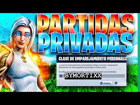 Partidas Privadas Con Codigo Con Subscriptores En Directo Fortnite Partidas Personalizadas Pavos Youtube