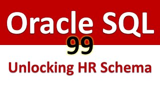 Oracle sql developer tutorial for beginners series. this course introduces development its subscribers. currently is based on 12c....