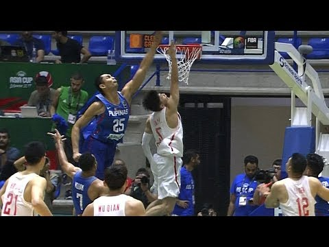 Japeth Aguilar & Gabe Norwood Lead the Gilas Block Party vs China (VIDEO) FIBA Asia Cup 2017