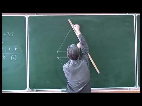 Начертательная геометрия. Лекция 12. Часть 1.
