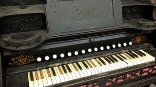 TEA VLOG- CREEPY ANTIQUE ORGAN PIANO