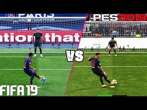 FIFA 19 vs. PES 2019: Penalty Kicks | 4K