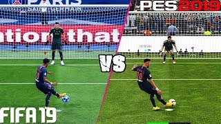 FIFA 19 vs. PES 2019: Penalty Kicks | 4K