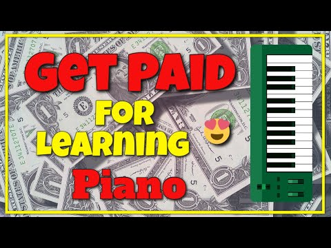 Get Paid for Learning Piano