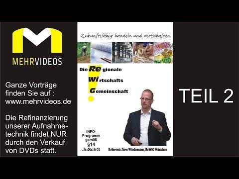 RE gionale WI rtschaftsG emeinschaft, Info-Vortrag mit Jörn Wiedemann, ReWiG MünchenTeil 2