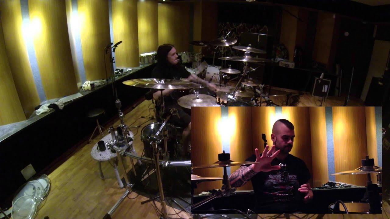 Sabaton — Studio diaries 2014 — Drum Recordings