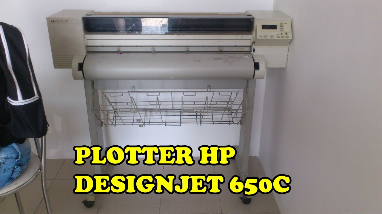NEW DRIVER: DESIGNJET 650C PLOTTER