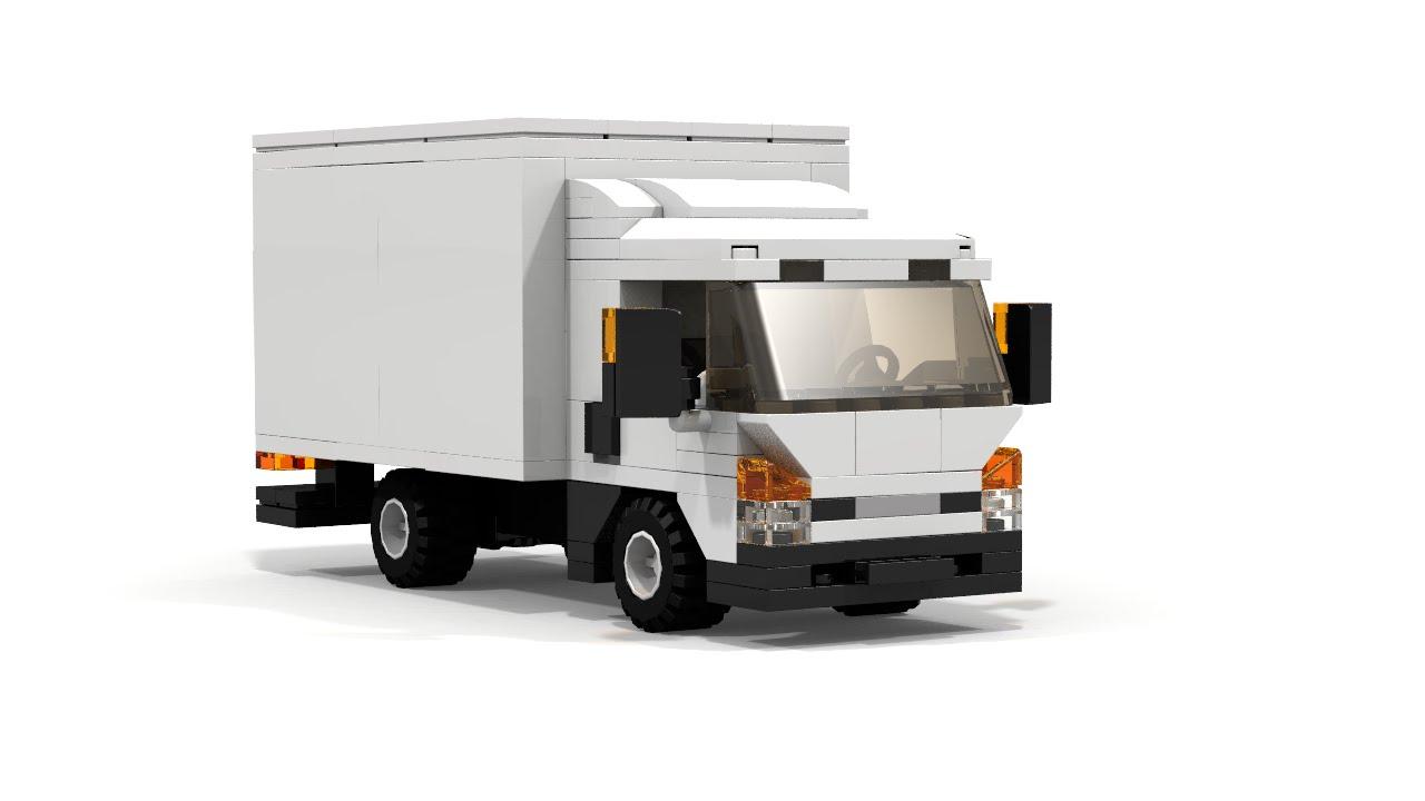 lego city cargo truck instructions youtube