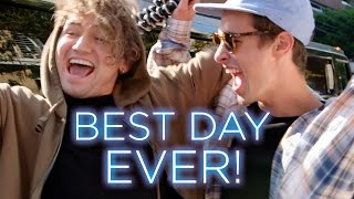 KIAN LAWLEY HAS THE BEST DAY EVER w/ JC CAYLEN | Before I Fall