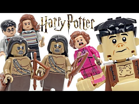 LEGO Harry Potter Forbidden Forest: Umbridge's Encounter Review! 2020 Set 75967!