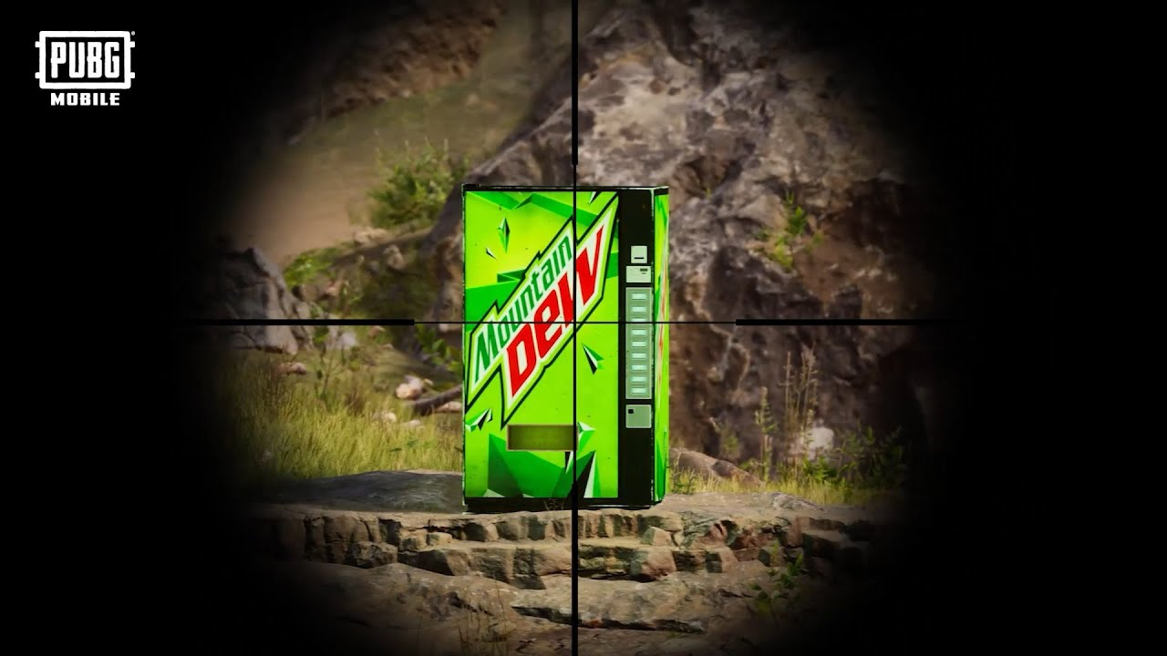Mountain Dew dalam PUBG MOBILE?