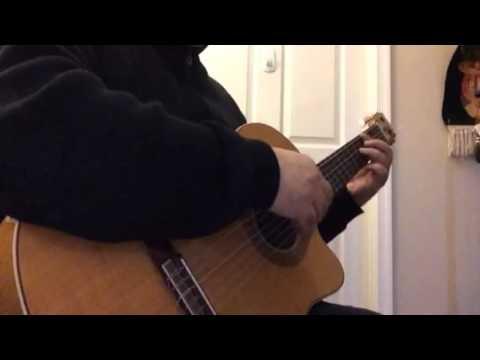 Bigharar-Moein Guitar Coverبیقرار - معین - گیتار