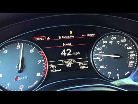 2014 Audi S6 0-60 Acceleration w/ Launch Control (C7 4.0TT)