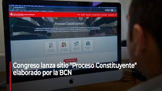 """Lanzamiento del sitio web """"Proceso Constituyente"""""""