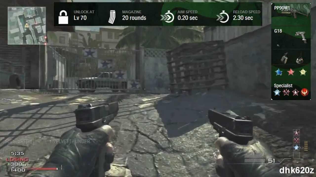 MW3 | The Best Alternative to the Akimbo FMG9's - In my opinon these are better than the FMG's.