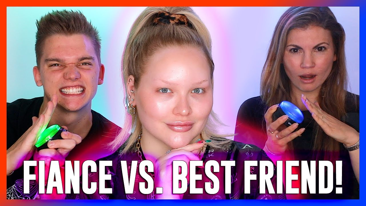 WHO KNOWS ME BETTER?! Fiance vs. Best Friend!   NikkieTutorials