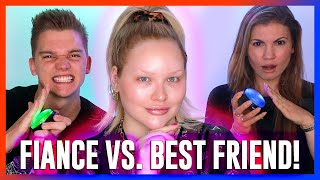 WHO KNOWS ME BETTER?! Fiance vs. Best Friend! | NikkieTutorials