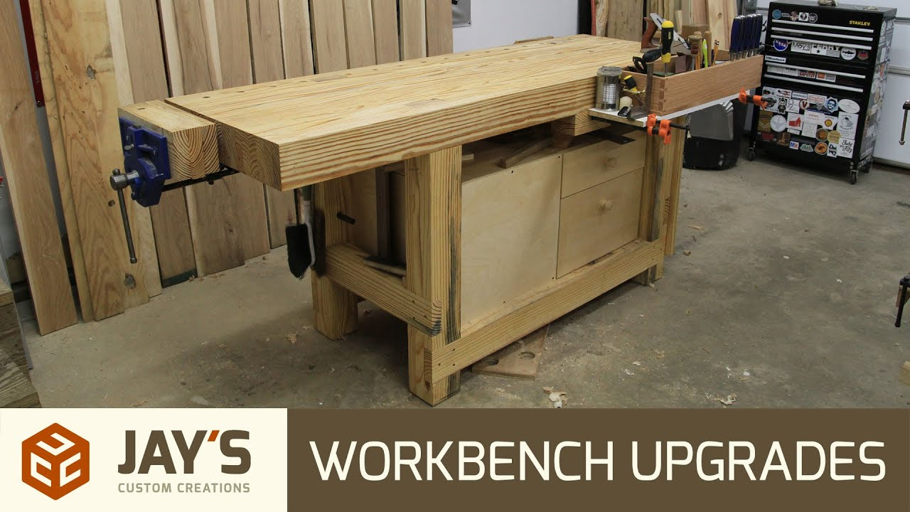 plans sjobergs of trend ideas woodworking homemade on ft about all and workbench bench best casters unbelievable pict garage for concept
