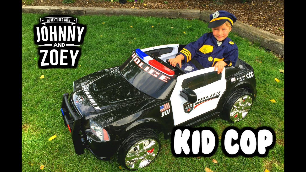 Cops And Cars For Kids