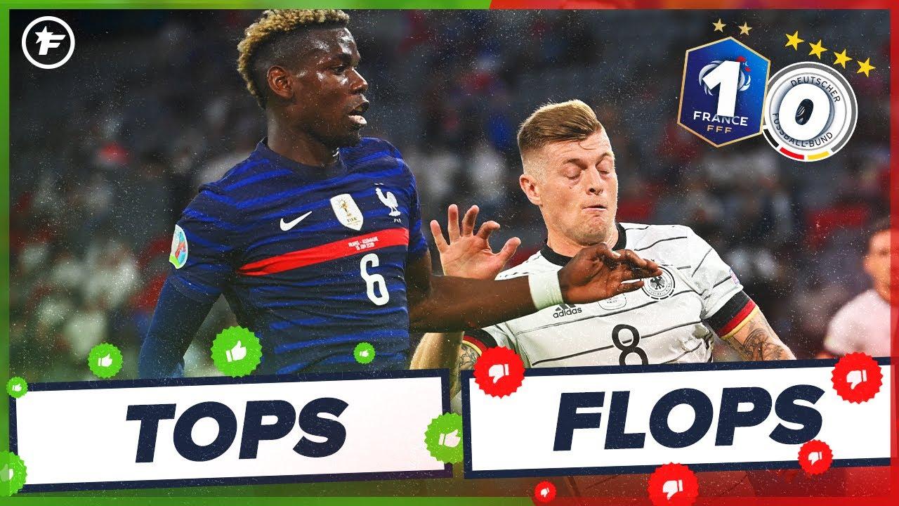 France-Allemagne (1-0) : Paul Pogba magistral, Raphaël Varane taille patron | Tops et Flops