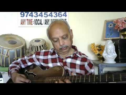 "Badan Pe Sitare""PRINCE""hindi GUITAR Instrumental Music By VISWANATHA LS"