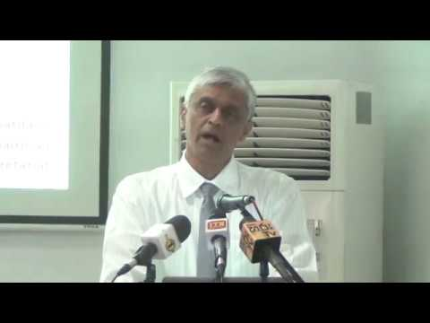 Eng. Asoka Abeygunawardana - Press Conference - Energy Crisis and Renewable Energy Option