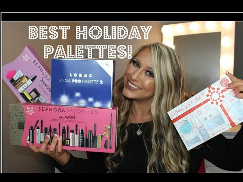 BEST HOLIDAY PALETTES & BLACK FRIDAY SALES!!!!!