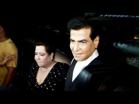 Jitendra With Wife Shobha Kapoor At Divyanka Tripathi & Vivek Dahiya's Reception