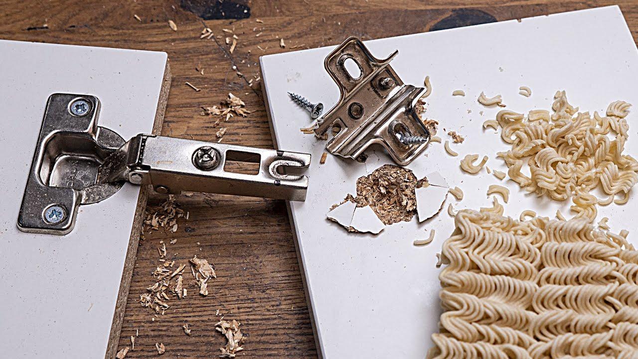 Как починить вырванную петлю. 11 способов  Простые приемы и секреты мебельщиков. Полезные советы.
