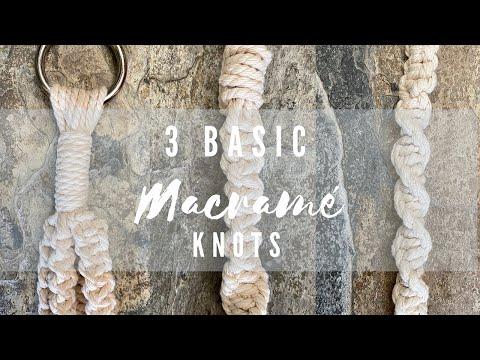 3-basic-beginner-macrame-knots-for-making-a-plant-hanger---beginner-how-to
