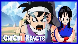 CHICHI REACTS: IF DRAGONBALL CHARACTERS SANG WHILE THEY POWERED UP