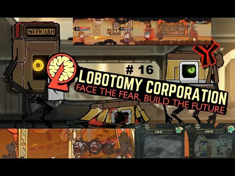 Lobotomy Corporation #16 ~ Day 24-25, Almost Gave up...