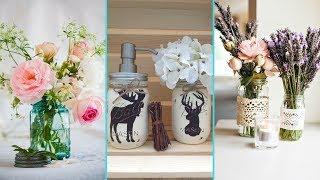 ❤ DIY Shabby chic style Spring Mason Jar decor Ideas❤| Home decor & Interior design| Flamingo Mango|