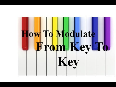 How To Modulate Smoothly From Key To Key