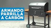 Trendline Holzkohlegrill Montreal Test : El fuego ay 372 ontario holzkohle grillwagen gartenxxl youtube