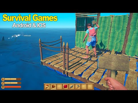 Top 10 Best Survival Games For Android & IOS 2019 (Online/Offline)